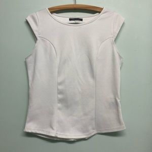 🐣 2/$20 Suzy Shier White Blouse Large